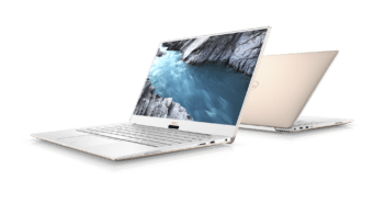 Dell XPS 13 Alpine White and Rose Gold