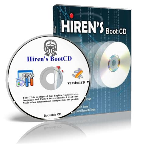 Hiren's Boot CD recovery utility